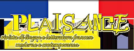 Plaisance rivista di lingua e letteratura francese for Rivista francese di campagna